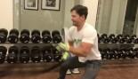 WATCH: Mark Wahlberg Sweating Through an Intense Full-Body Workout thumbnail