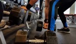 rows at dumbbell rack thumbnail