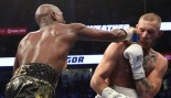 Floyd Mayweather Jr. Defeats Conor McGregor by 10th-Round TKO to End Career 50-0 thumbnail