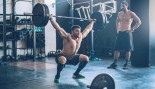Overhead barbell squat thumbnail
