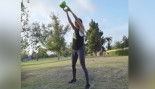 Paige Hathaway's Fit in Five Kettlebell Workout thumbnail