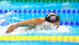 Michael Phelps Stares Down South African Swimmer, Beats Him in Butterfly Semifinal thumbnail