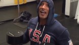 The Rock dumbbell bench press instagram thumbnail