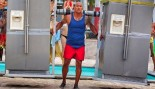 The Rock Shows His Strongman Credentials on Baywatch Set thumbnail