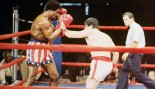 Sylvester Stallone and Carl Weathers in 'Rocky.' thumbnail