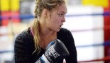 Ronda Rousey Working the Pads thumbnail