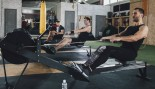 Cardio workout on rowing machine thumbnail