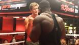 Watch: UFC Lightweight Sage Northcutt Wrestles Bodybuilding Pro Blessing Awodibu  thumbnail