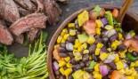 Skirt steak corn avacado salsa thumbnail