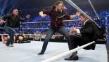 Daniel Bryan attacks The Miz on WWE Smackdown.  thumbnail