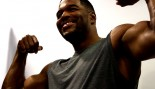 Behind the Scenes at Michael Strahan' Muscle & Fitness Cover Shoot thumbnail