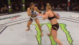 Miesha Tate Shocks Holly Holm at UFC 196  thumbnail