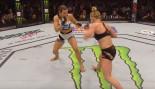 Miesha Tate Shocks Holly Holm at UFC 196  thumbnail