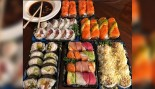 The Rock's Latest Cheat Meal Was a Sushi Platter the Size of a Boogie Board  thumbnail