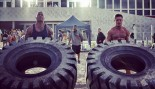 The Rock and Zac Efron flipping tires thumbnail