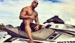 The Rock aka Dwayne Johnson on a Jet ski thumbnail
