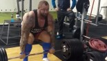 Check Out 'Thor' Hafþór Björnsson Sparring in the Ring thumbnail