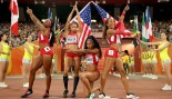 U.S. Women's Relay Team Strikes a Pose Before Championships thumbnail