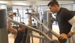 Steve Weatherford in gym thumbnail
