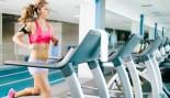Woman running on treadmill thumbnail