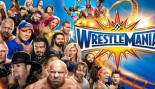 WrestleMania 33 Promotional Poster with Popular WWE Superstars thumbnail