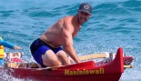 Alex Smith goes canoeing with his family in Hawaii.  thumbnail