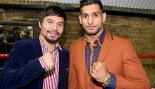 """Manny Pacquiao Reveals He Is """"In Negotiations"""" With Amir Khan For Next Fight thumbnail"""