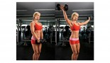 woman doing steps of arm lateral raise thumbnail