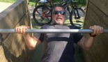 Arnold Pumps Iron While Filming 'Terminator' in Budapest thumbnail
