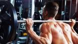 Man Does Back Squat Exercise thumbnail
