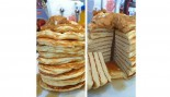 Stack of no-carb banana pancakes thumbnail
