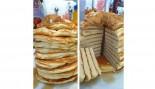 Stack of no-carb banana pancakes thumbnail