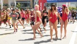 Fans Running In .5k Baywatch Marathon At L.A. Live  thumbnail