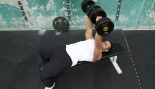 flat bench dumbbell press thumbnail