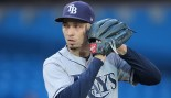 Blake Snell #4 of the Tampa Bay Rays thumbnail