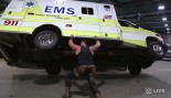 Braun Strowman Lifts Ambulance thumbnail