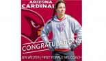 Arizona Cardinals Hire First Female Coach thumbnail