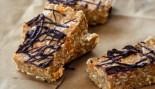 Chocolate Peanut Butter Protein Bars thumbnail