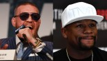 Conor McGregor And Floyd Mayweather Speaking at Fight Press Conference.  thumbnail