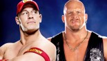 "A picture of WWE Superstars John Cena and ""Stone Cold"" Steve Austin. thumbnail"