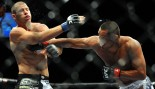 Dan Henderson connects with a right to Mike Bisping thumbnail