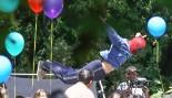 Ryan Reynolds' Deadpool Crashes a Kid's Birthday Party in New Set Photos thumbnail