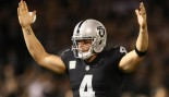 Watch: NFL star Derek Carr Trolls His Trainer With Arm Workouts on Leg Day thumbnail