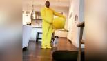 Dwayne Johnson Wearing A Pikachu Suit  thumbnail