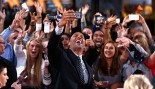 Dwayne Johnson Celebrates With Fans  thumbnail