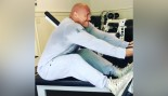 Dwayne Johnson Performing Seated Cable Row  thumbnail