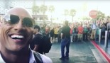 Dwayne Johnson With Fans  thumbnail