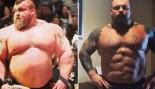 Eddie Hall Flexes Ridiculous Abs Transformation  thumbnail