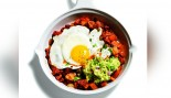 Sweet Chorizo Hash with Eggs and Gaucamole thumbnail