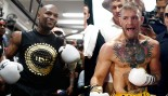Watch: Troll Master Mayweather Jr. Enters the Octagon, McGregor Responds thumbnail